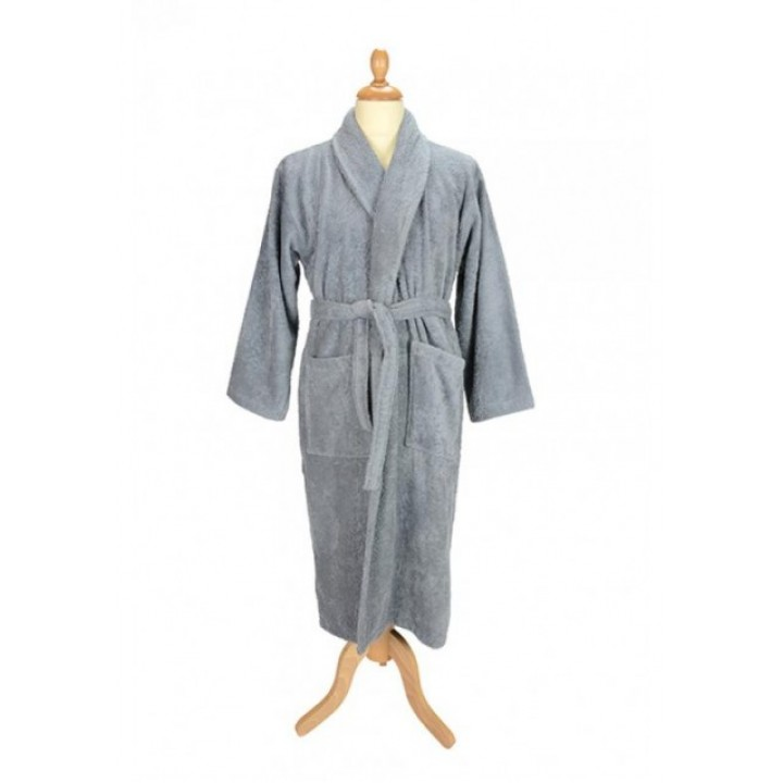 Affix Apparel Custom Bath Robe With Shawl Collar